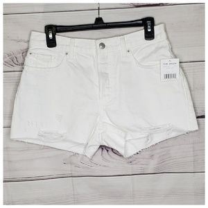 🆕️ Free People Women's Distressed Denim Shorts